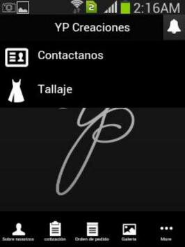 YP Creaciones Panama apk screenshot