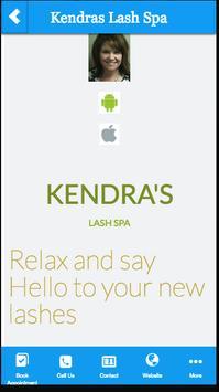 Kendra's Lash Spa poster