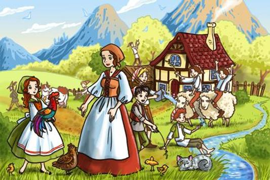 The Seven Ravens Fairy Tale apk screenshot
