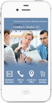 Cynthia Hanley MA Mediation poster