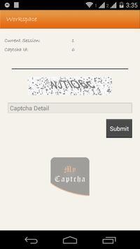 My Captcha apk screenshot