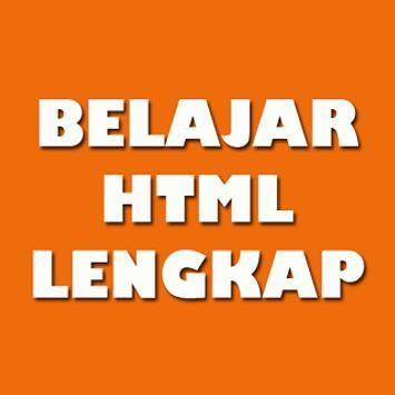 Belajar HTML Lengkap poster