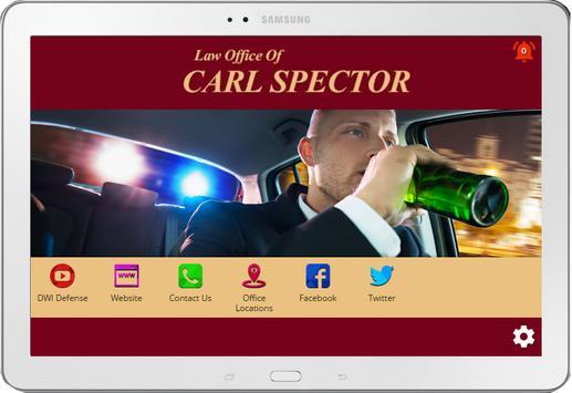 NY DWI Lawyer Carl Spector apk screenshot