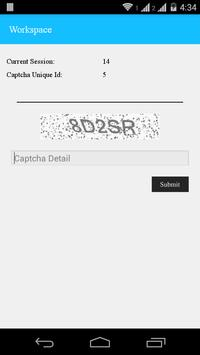 ONLY CAPTCHA apk screenshot