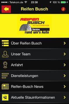 Reifen Busch poster