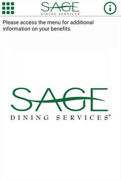 Sage Dining Services poster