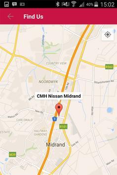 CMH Nissan Midrand apk screenshot