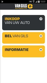 Van Gils Auto Inkoop App poster