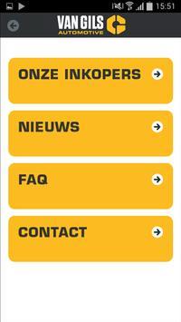Van Gils Auto Inkoop App apk screenshot