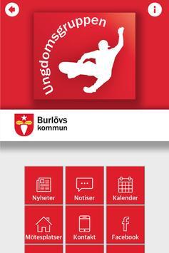 Ungdomsgruppen Burlövs Kommun poster