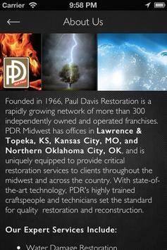 Paul Davis Restoration apk screenshot