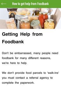 Stowmarket Foodbank apk screenshot