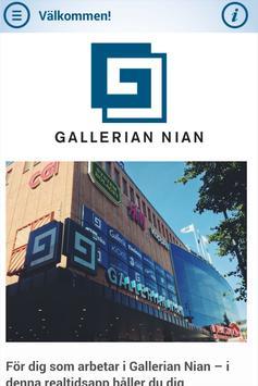 Gallerian Nian -intern info poster