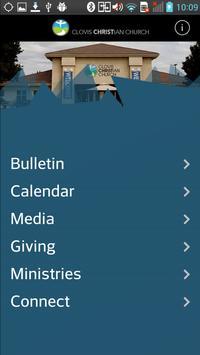 Clovis Christian Church poster