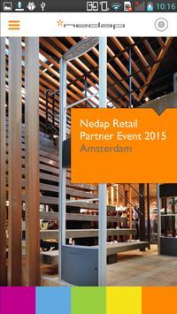 Nedap Partner Event 2015 poster