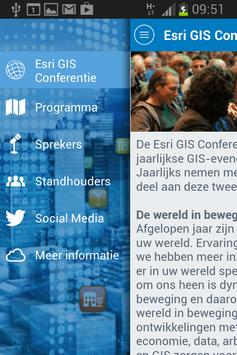 Esri GIS Conferentie 2015 poster