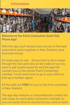 Parts Connection NZ apk screenshot