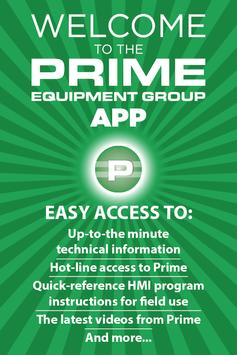 Prime Equipment Connect poster