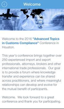 Customs Conferences apk screenshot
