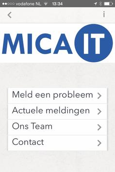 Mica IT poster