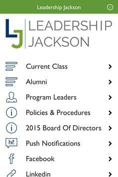 Leadership Jackson poster