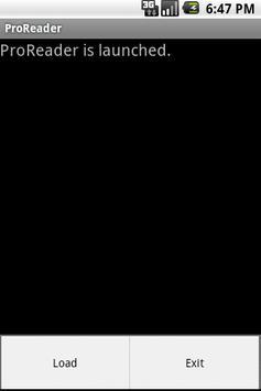 ProReader Free apk screenshot