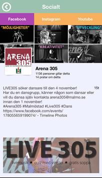 Arena 305 Malmö apk screenshot