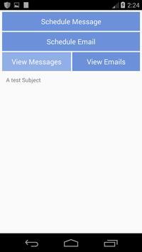 Message Later apk screenshot