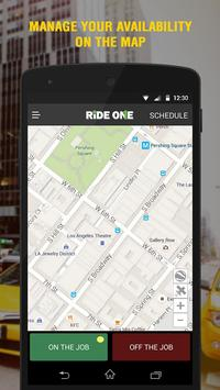 RideOne Partner poster