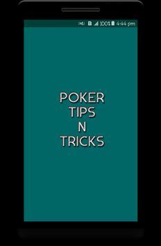Poker Tips N Tricks poster