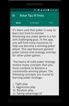 Poker Tips N Tricks apk screenshot
