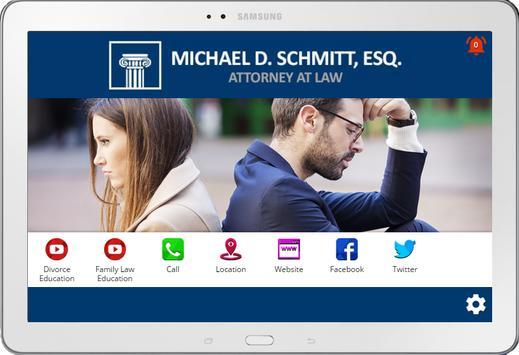 Michael Schmitt Divorce Lawyer apk screenshot