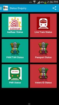 Status Enquiry India poster