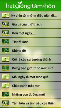 Hạt Giống Tâm Hồn apk screenshot