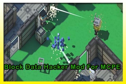 Block Data Hacker Mod For MCPE apk screenshot