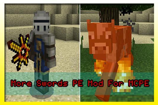 More Swords PE Mod For MCPE apk screenshot