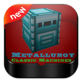 Metallurgy Machines Mod MCPE icon