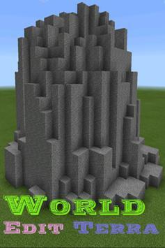 World Edit Terra Mod For MCPE poster