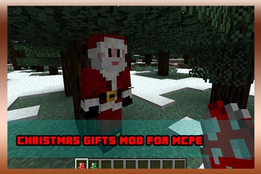Christmas Gifts Mod For MCPE apk screenshot