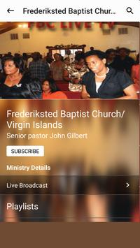 Frederiksted Baptist Church apk screenshot