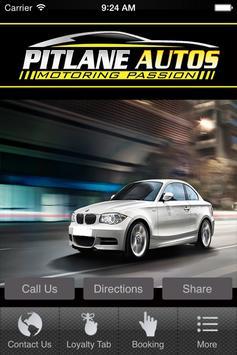 Pit Lane Autos poster