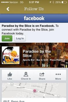 Paradise Slice Online Ordering apk screenshot