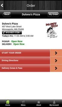 Dulono's Online Ordering apk screenshot