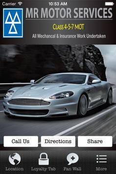 MR Motors poster