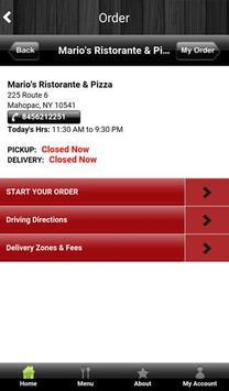 Marios Ristorante & Pizza apk screenshot