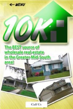 Homes For 10k poster