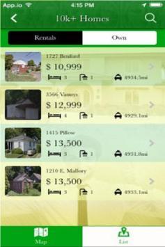 Homes For 10k apk screenshot
