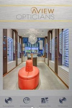 A View Opticians poster