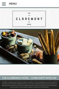 The Claremont Hotel poster