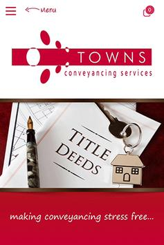 Towns Conveyancing Services poster